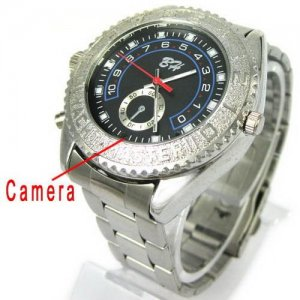 4GB 5.0 MP Functioning Watch with Digital Camcorder - Pinhole Camera